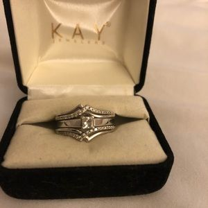 Kay jewelers engagement ring and sleeve band
